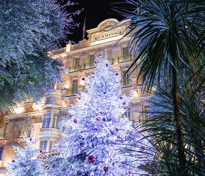 La magia di Natale - hôtel Hermitage Monte-Carlo